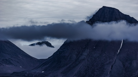 You can't hide: A view of Svalbard